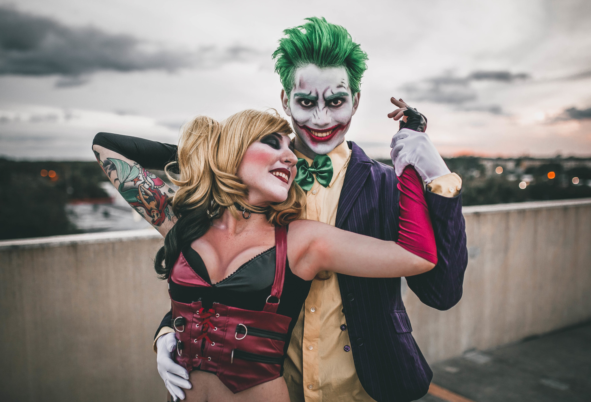 Harley Quinn Gotham Costume Buying Coach Poppy Glamtote