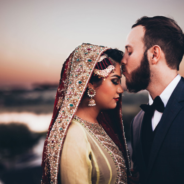 Alex + Feena // Cultural Pakistan Bride and Groom Portraits // Orlando Wedding Photographer